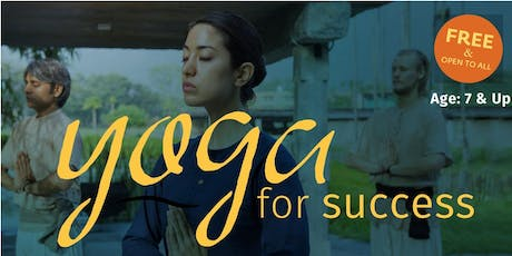 Yoga for Success (Free Session) tickets