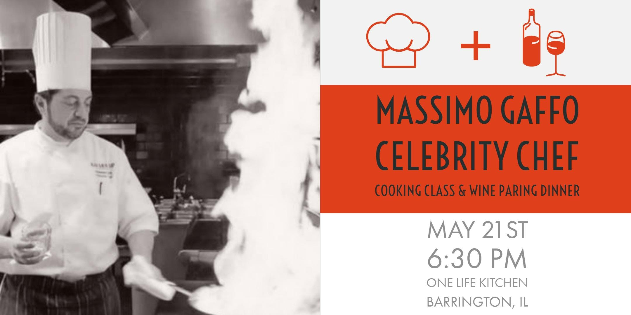 Cooking Class and Wine Pairing Dinner with Ce