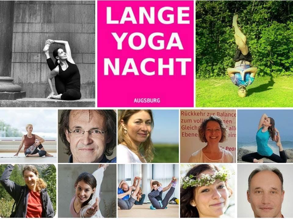 Die Lange Nacht des Yoga 2018 – mit Headliner