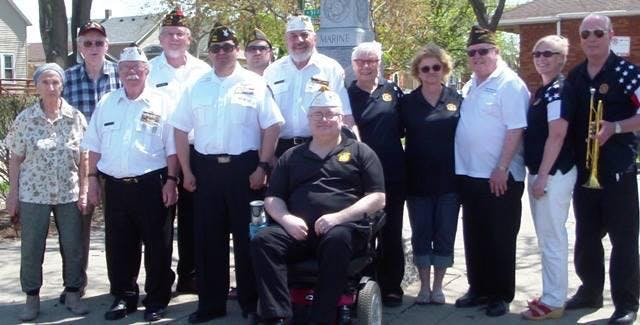 PFC Ted Stempien VFW Post-8821 Auxilliary Cer