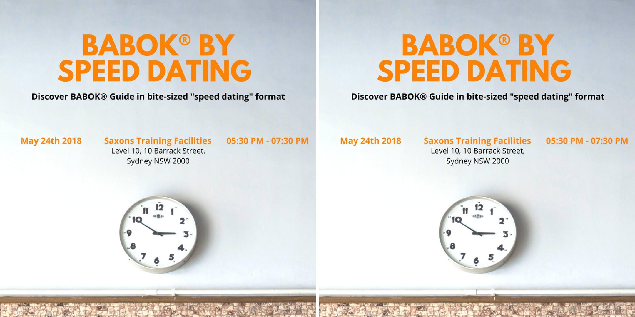 speed dating in sydney nsw