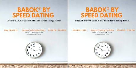 Speed dating sydney 2013