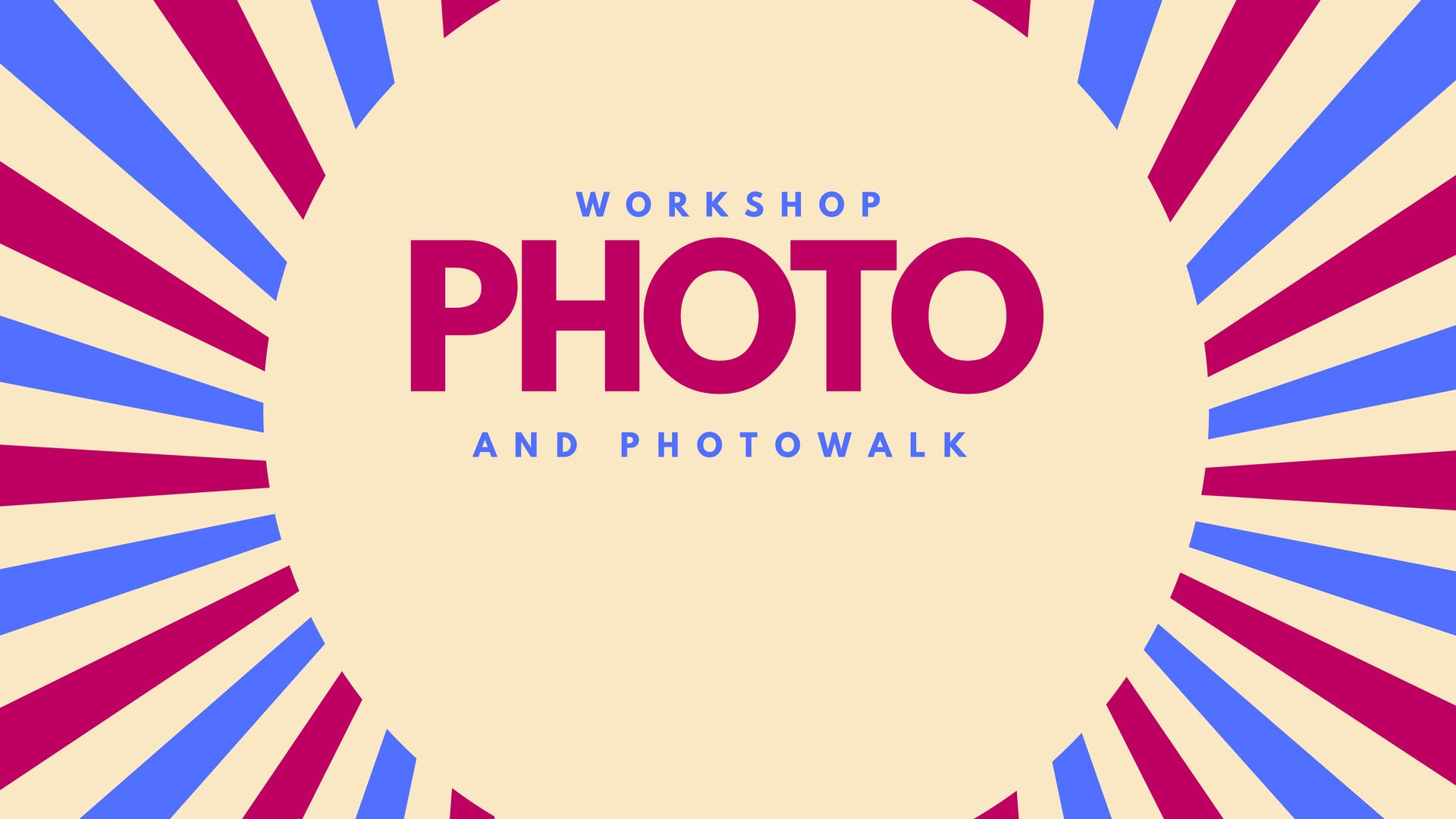 Basic Photography -  Workshop & Walk