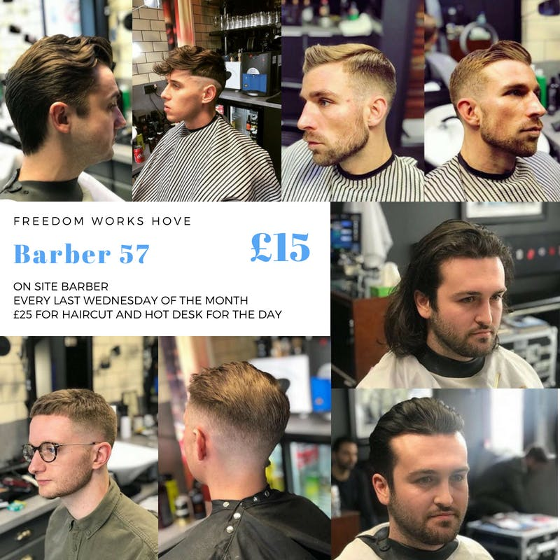 Barber 57 - On Site Haircuts