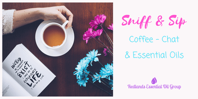 Sniff & Sip - Coffee, Chat & Essential Oils