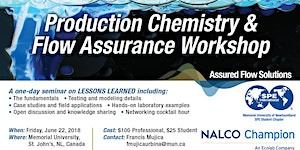Production Chemistry and Flow Assurance Workshop
