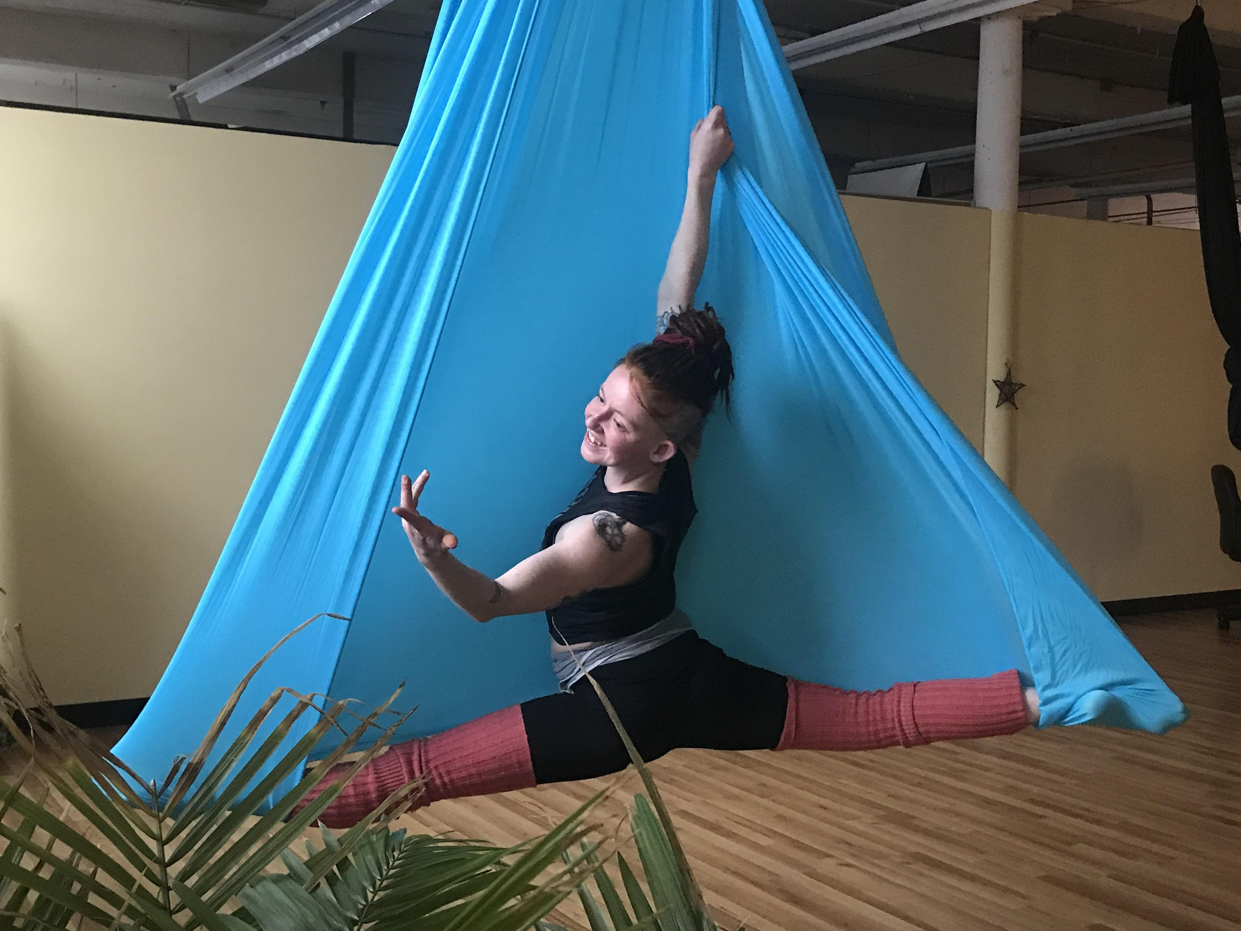 Aerial Yoga with Audrie in the Air
