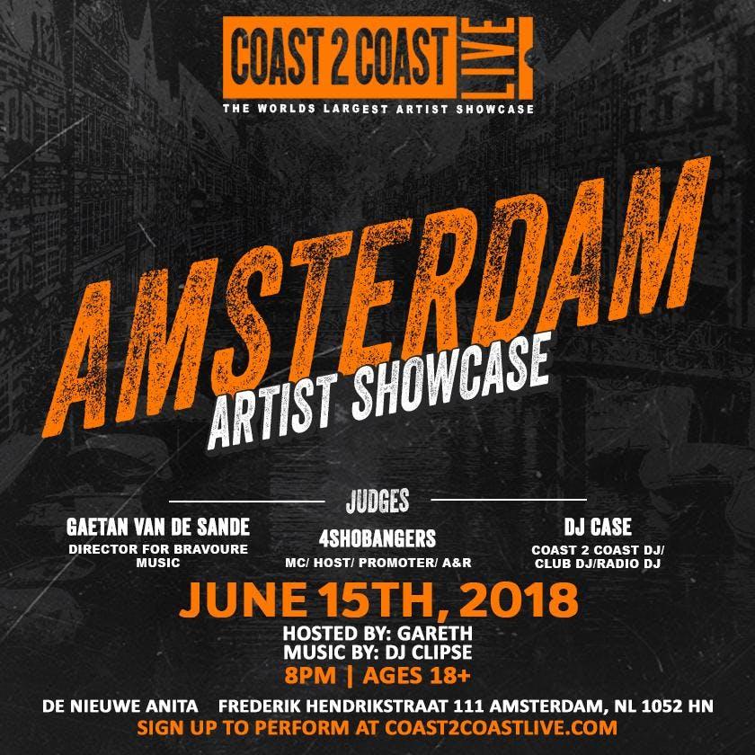 Coast 2 Coast LIVE | Amsterdam Edition June 1