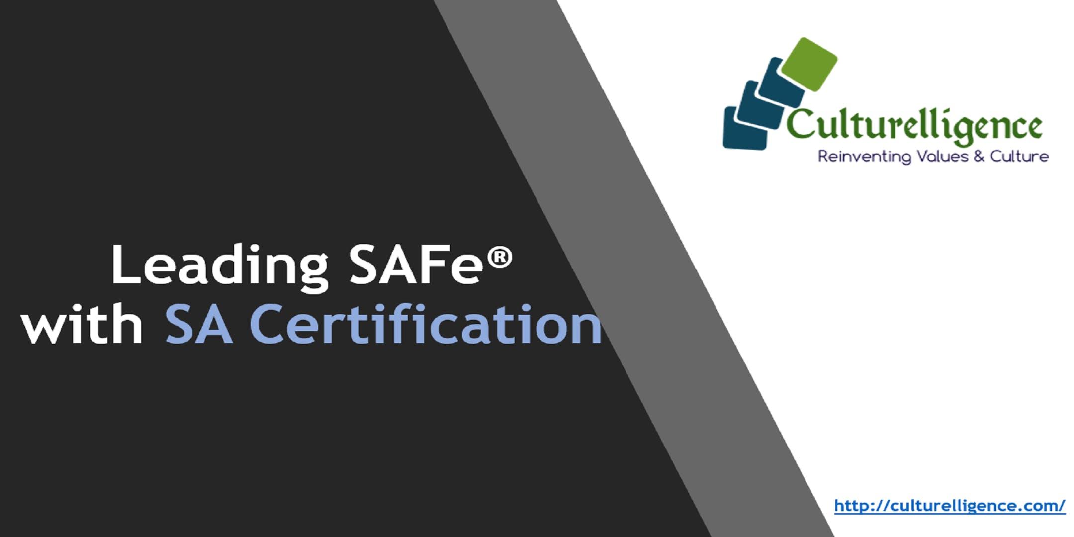 Leading Safe With Safe Agilist Sa Certification Hartford Ct 2