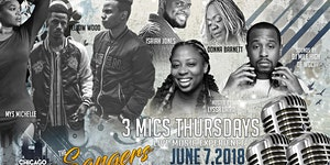 3 Mics Thursdays - June Edition