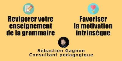 Formation «Grammaire» et/ou formation «Motivation intrinsèque» (Drummondville)