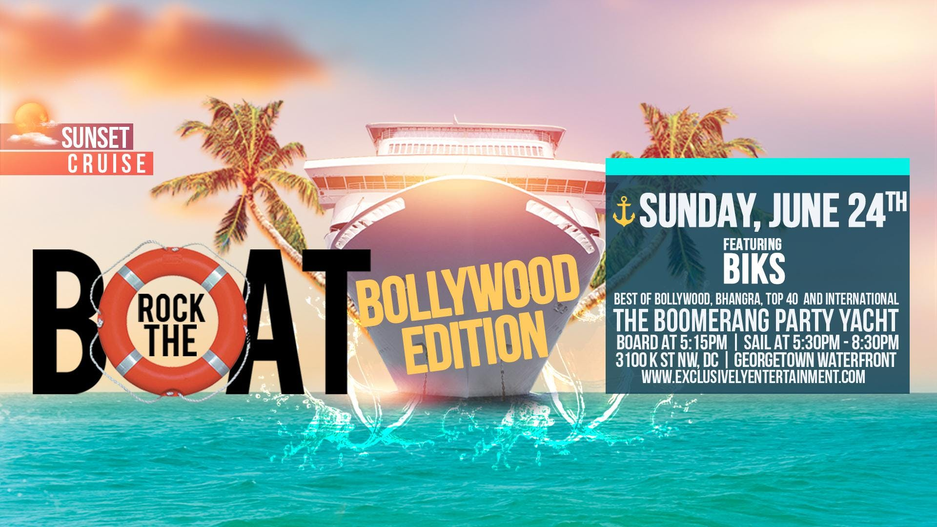 Rock the Boat - Bollywood Edition!