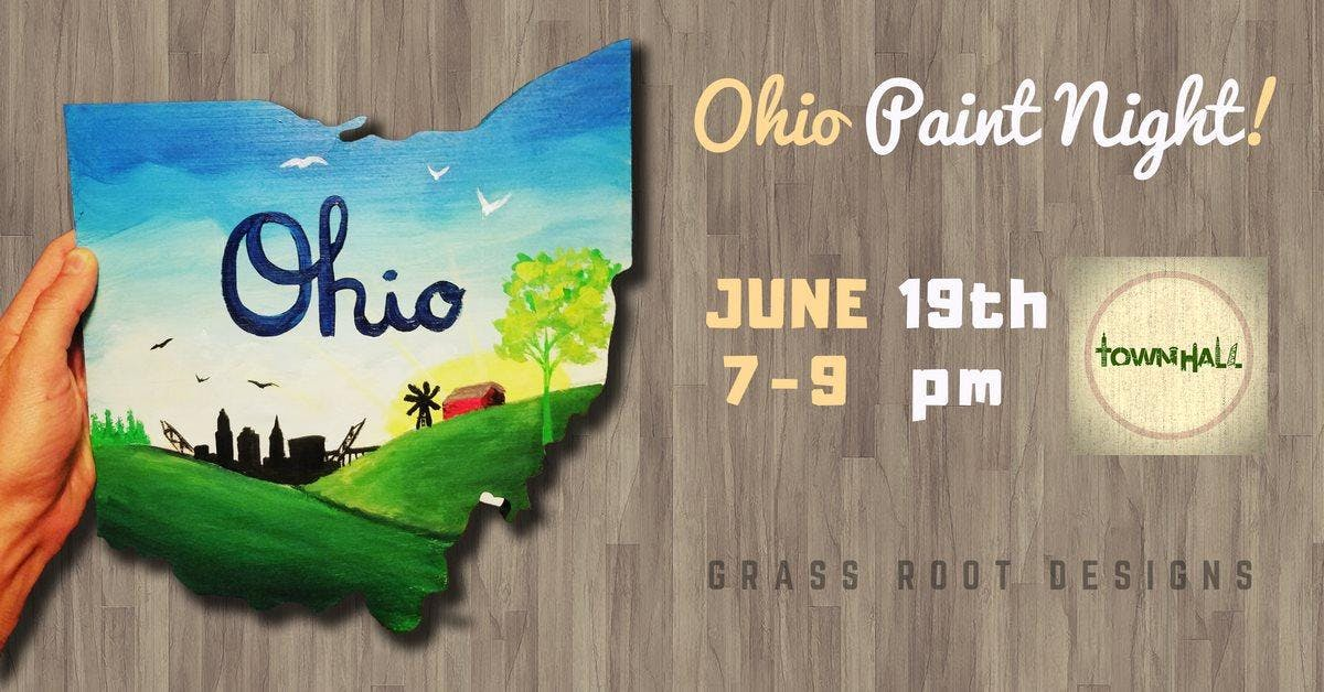 TownHalls Ohio is Home Paint Night w Cory Manley
