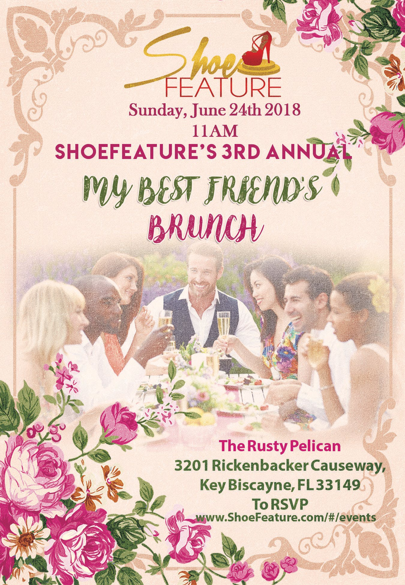 ShoeFeature presents MY BEST FRIEND'S BRUNCH
