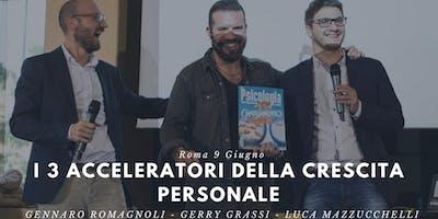 I 3 Acceleratori della Crescita Personale per raggiungere i tuoi Obiettivi - Cagliari