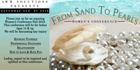 From Sand to Pearls Women's Conference tickets