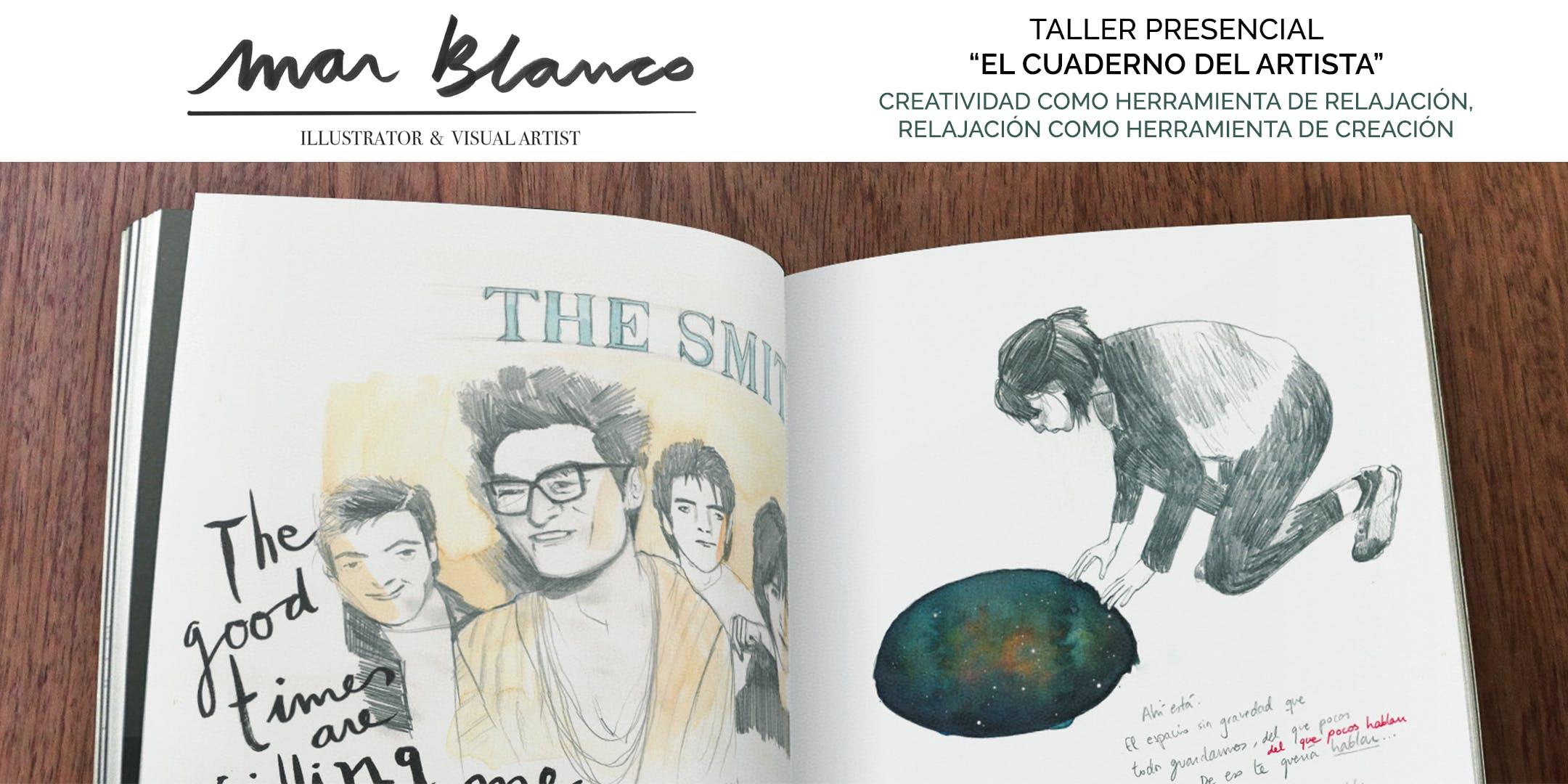 """""""El cuaderno del Artista"""", con Mar Blanco"""