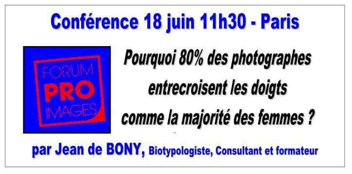 Conférence : pourquoi 80% des photographes en