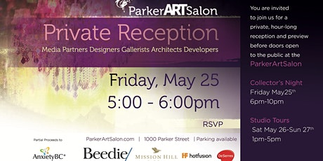 Parker Art Salon Private Reception tickets
