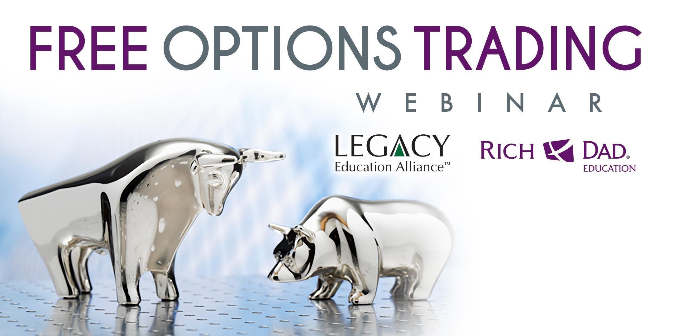 FREE Rich Dad Education Options Trading Webin