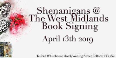 #Shenanigans19 @ The West Midlands Book Signing