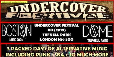 Undercover Festival VII (April 2019, Tufnell Park London)