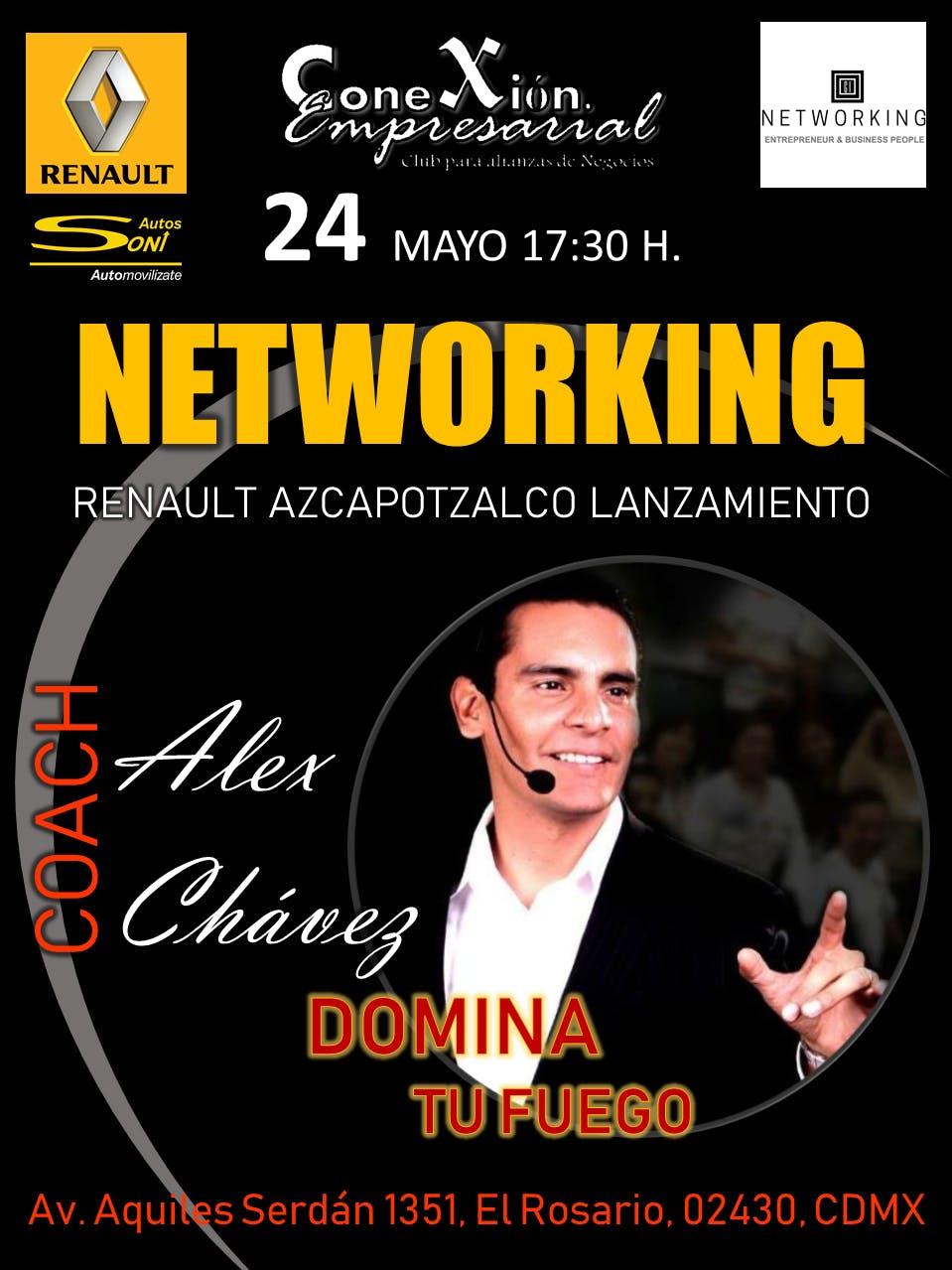 Networking - Conferencia - Lanzamiento