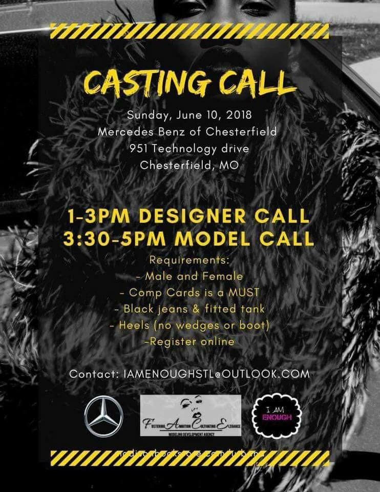 A Night Of Elegance Fashion Show Casting Call Models 10 Jun 2018