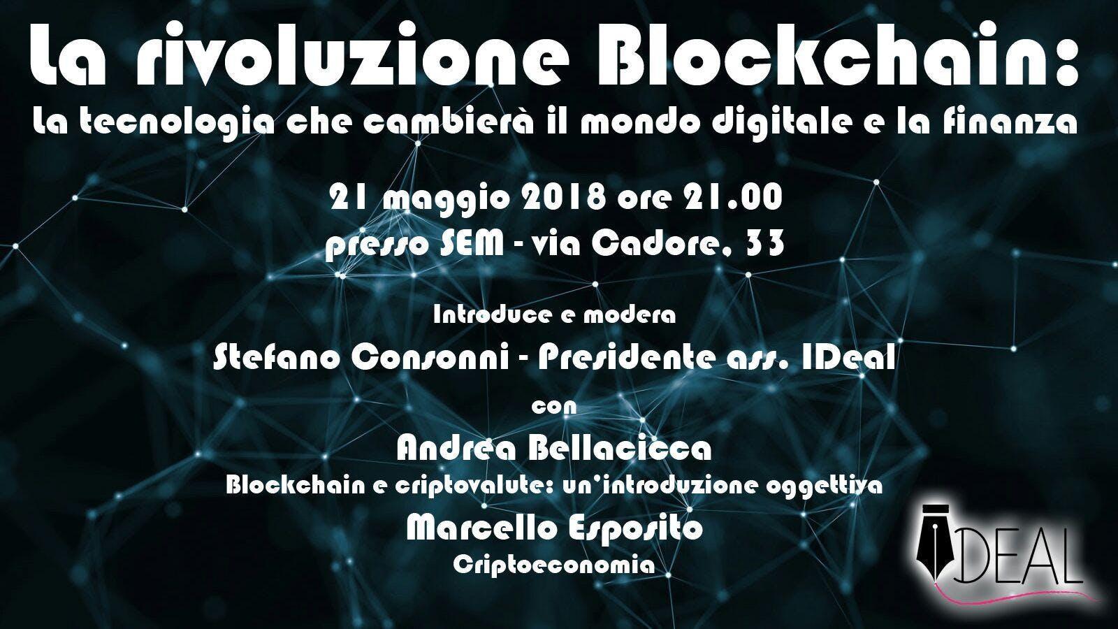 La rivoluzione Blockchain