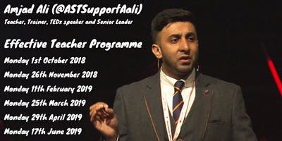 Amjad Ali (@ASTSupportAali) - Effective Teacher Programme - Day 6