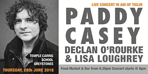 Concert for Tiglin with Paddy Casey, Declan O'Rourke...