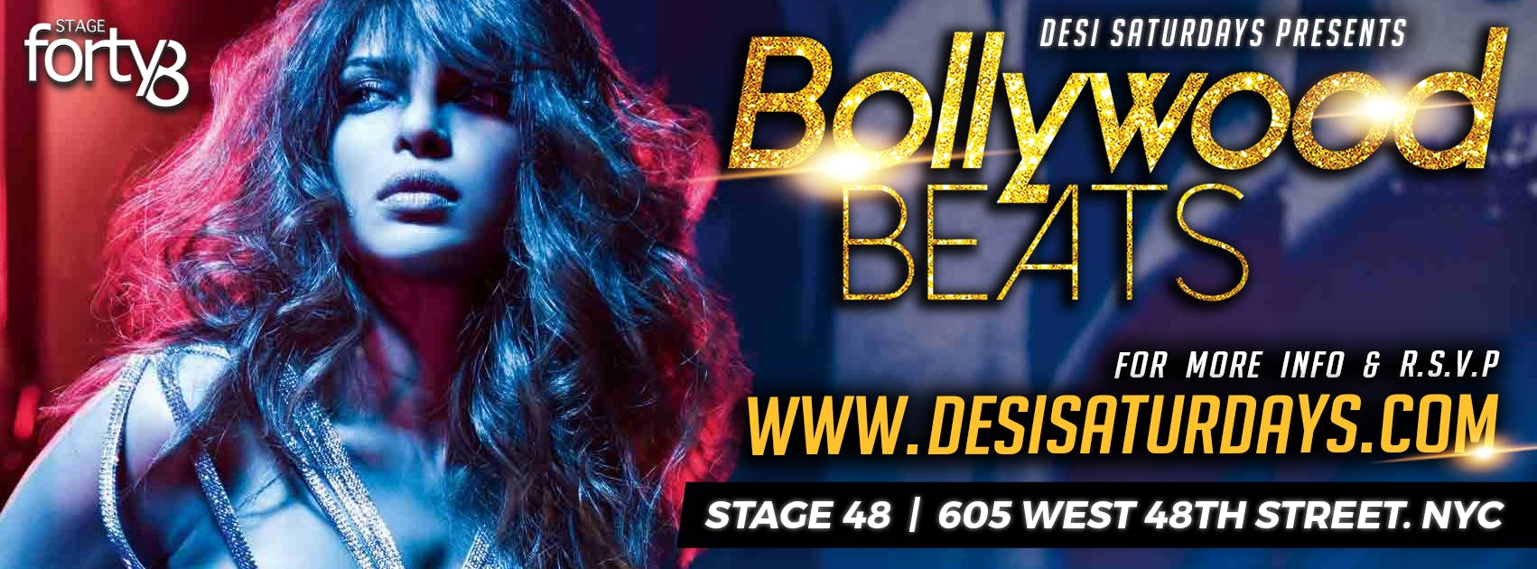 Bollywood Beats @ Stage48 NYC - A Weekly Satu