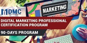 Digital Marketing Professional Certification Program -...