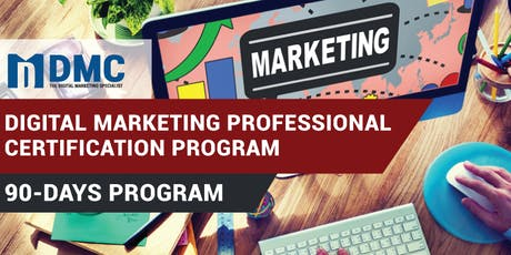 Digital Marketing Professional Certification Program - Penang tickets