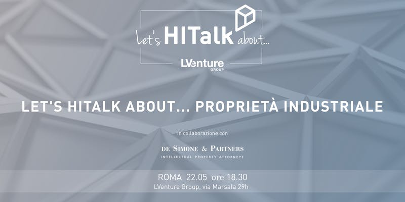 Let's HITalk about... Proprietà industriale
