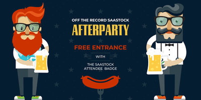 Out of the Record SaaStock Afterparty Meetup