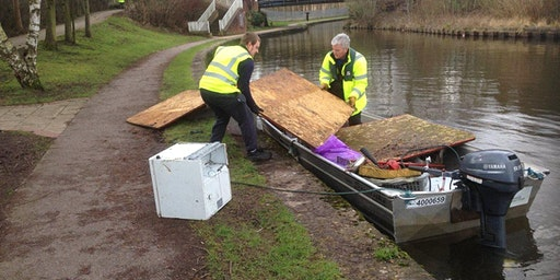 IWA Burslem Arm Canal Cleanup