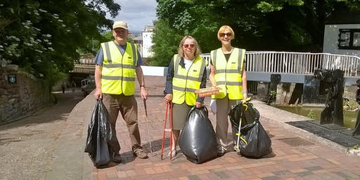IWA Shropshire Union Canal Cleanup