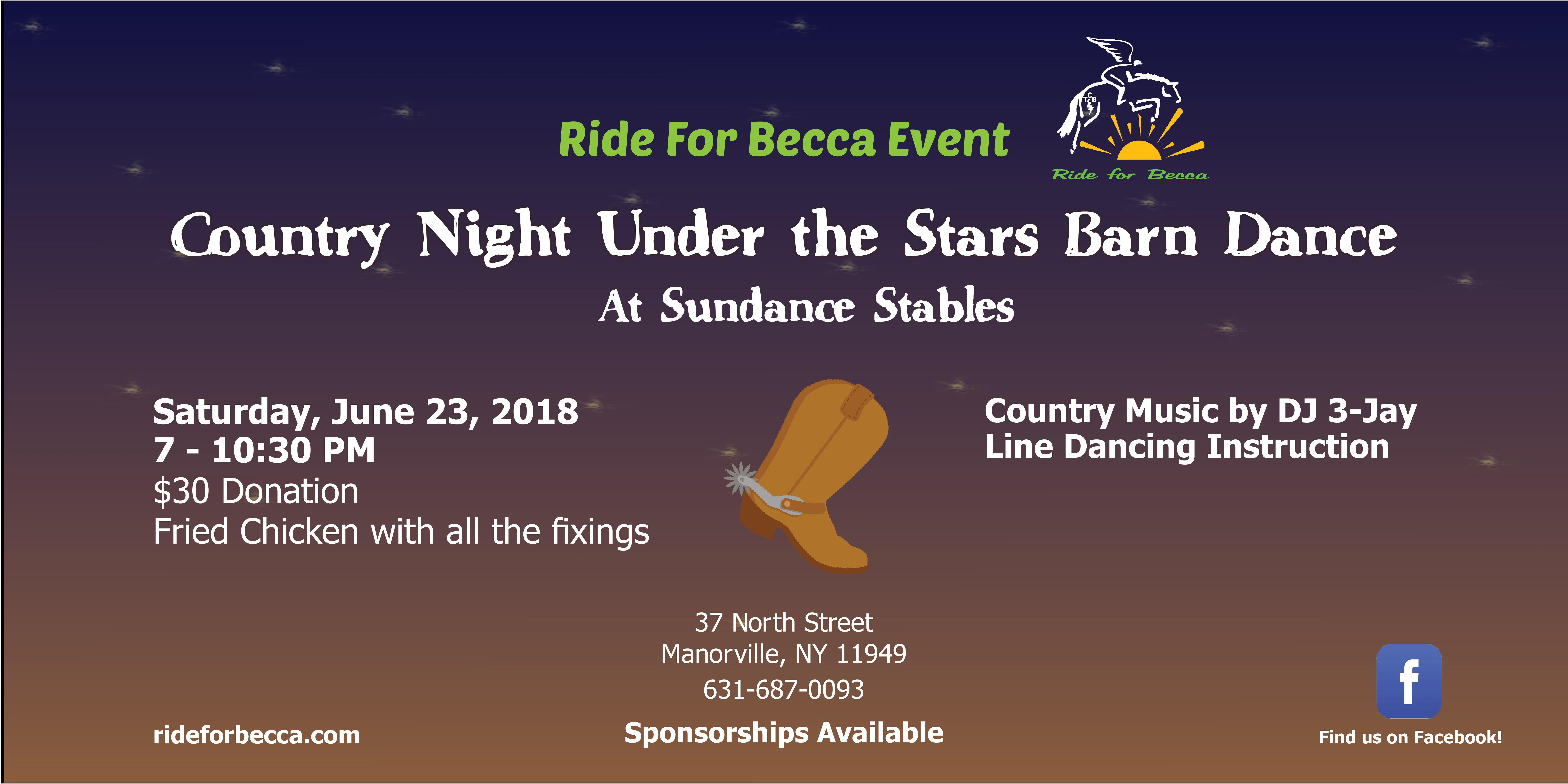 Country Night Under the Stars