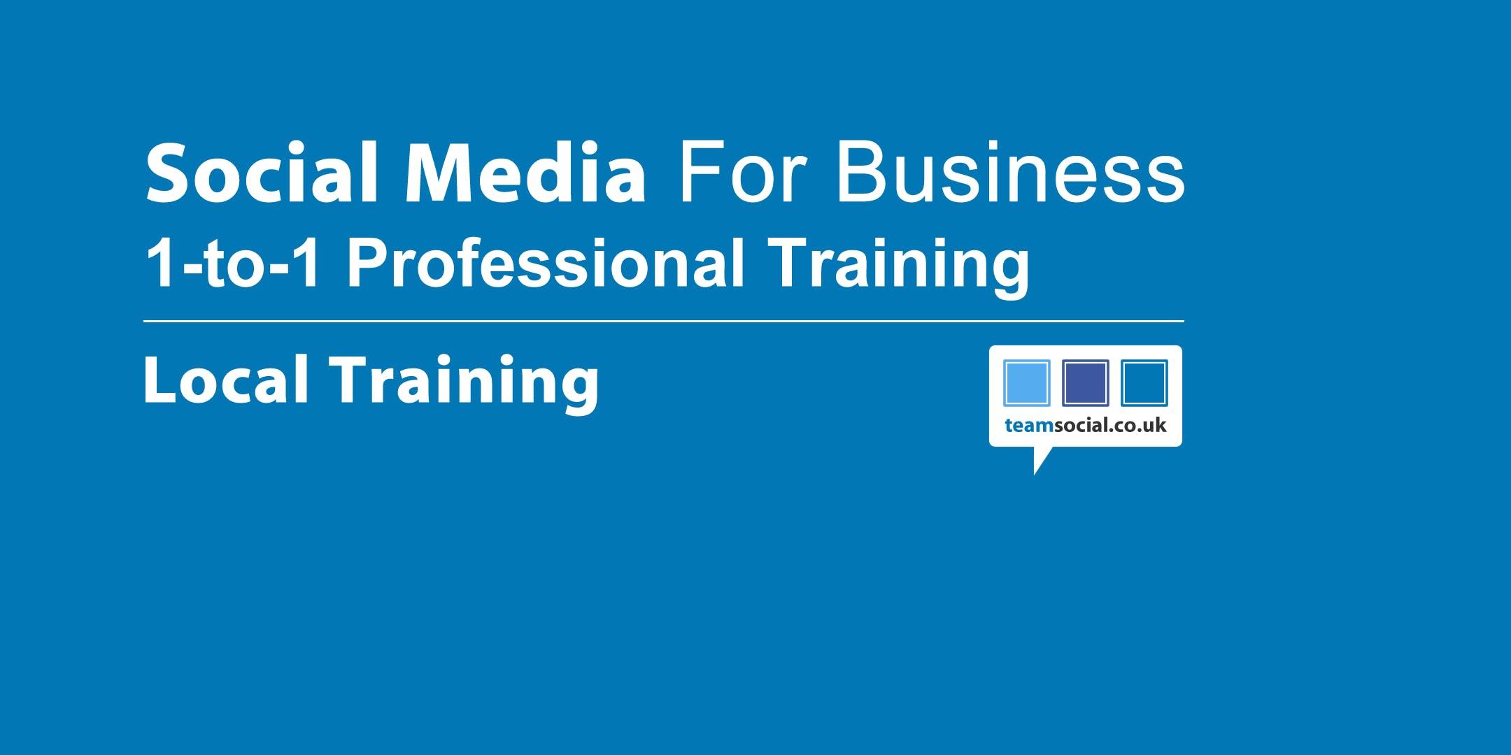 1 to 1 Social Media Training (Norwich)
