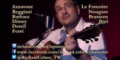 La chanson française en toute intimité... au Théâtre des Blondes Ogresses ! tickets