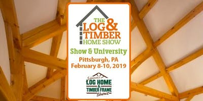 Pittsburgh, PA 2019 Log & Timber Home Show