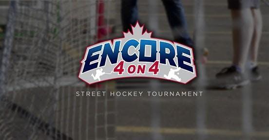 Encore 4-on-4 Street Hockey Tournament
