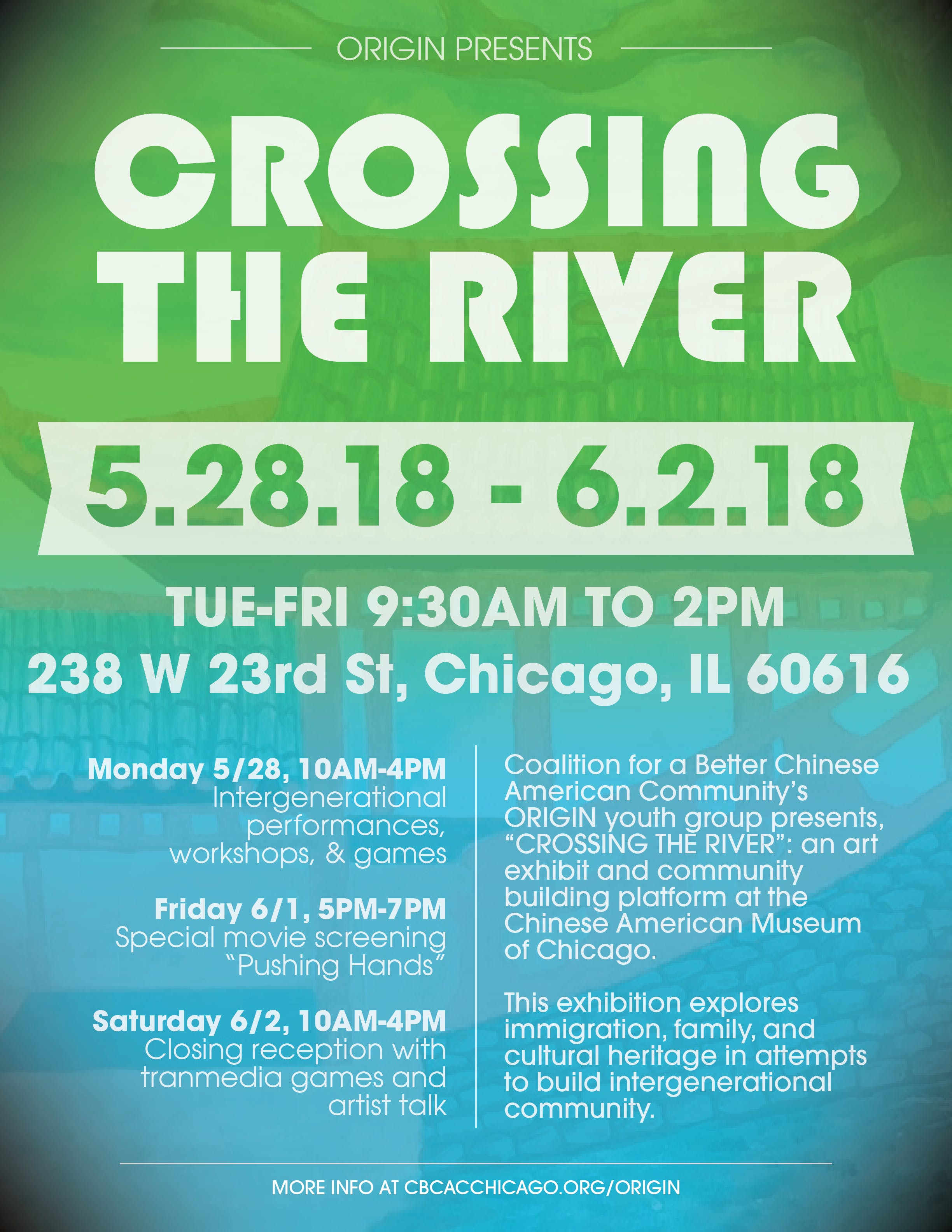 ORIGIN presents: Crossing the River