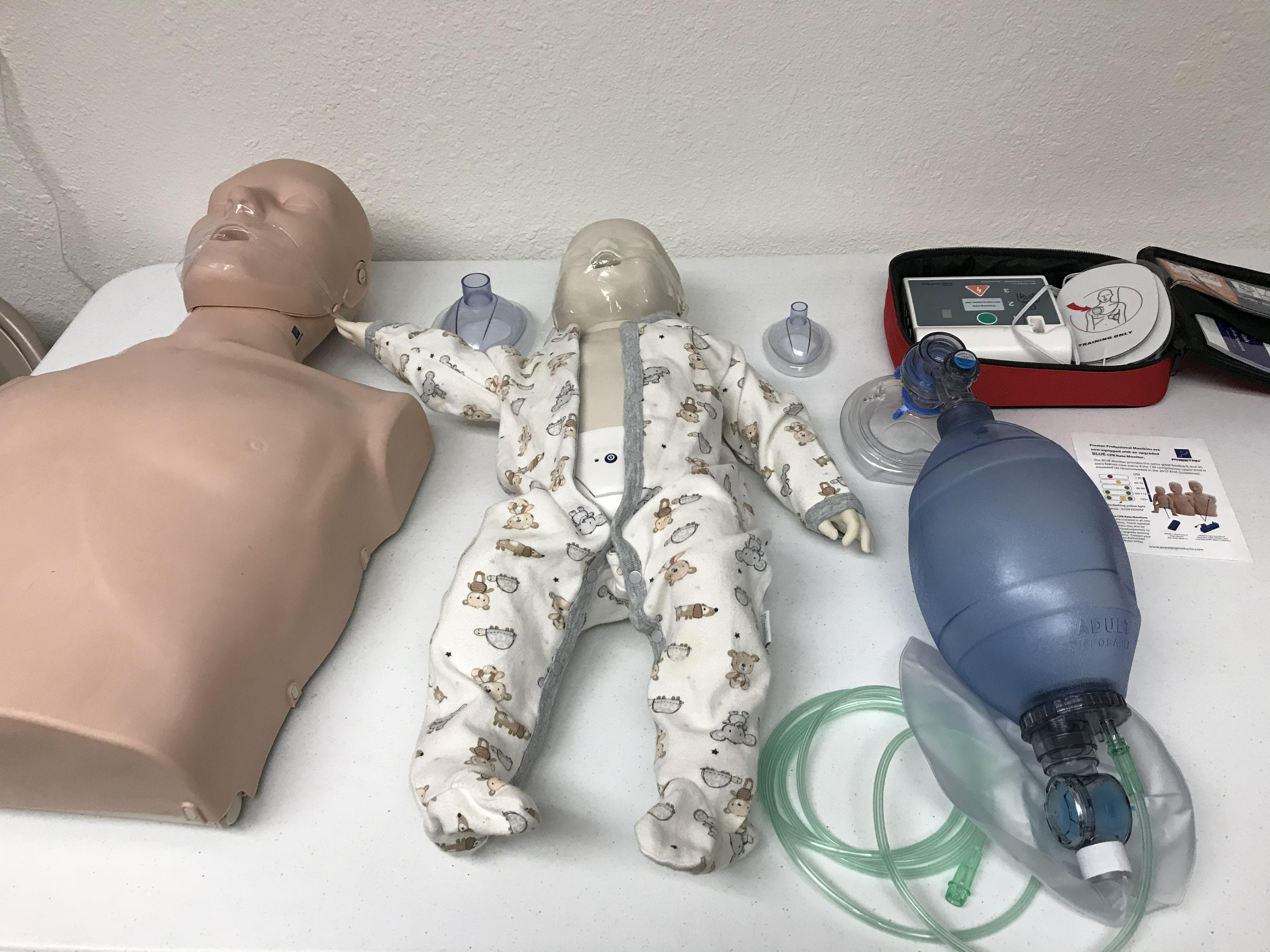 CPR AED & First Aid