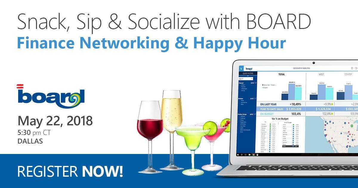 Finance Networking & Happy Hour