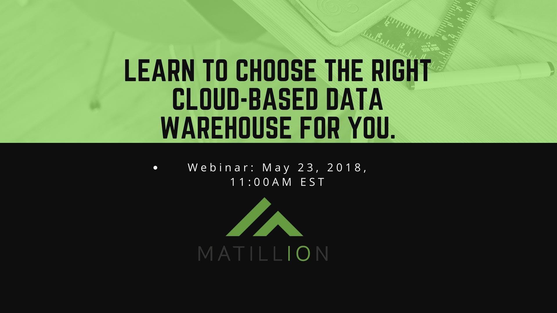 Learn to choose the right cloud-based data wa