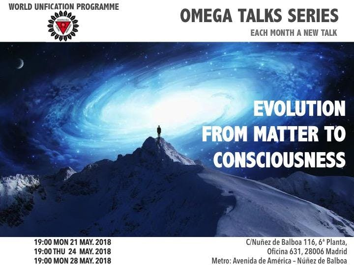 Evolution from Matter to Consciousness - Talk