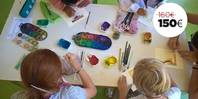 Arte a colori - Campus estivo per bambini dai 5 ai 12 anni