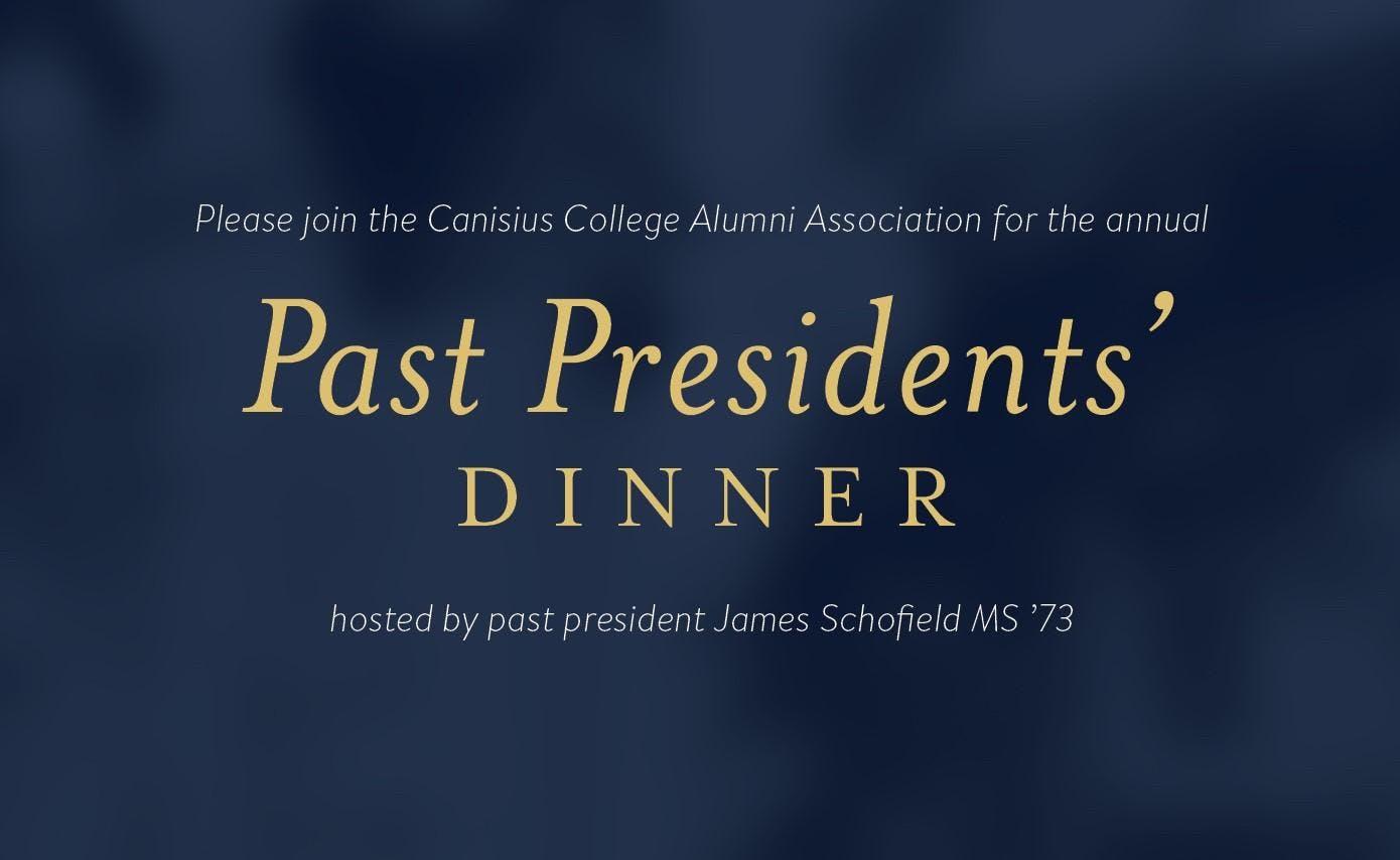 Alumni Association Past Presidents' Dinner